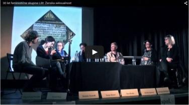 video still 30 let feministicne skupine Lilit