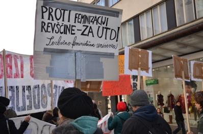 LFU na protestih 17.1.2012