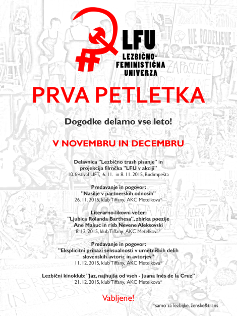LFU prva petletka december november 2015